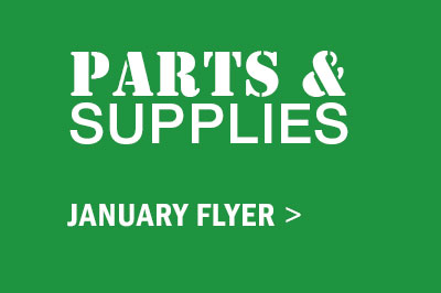 Parts and Supplies January Flyer