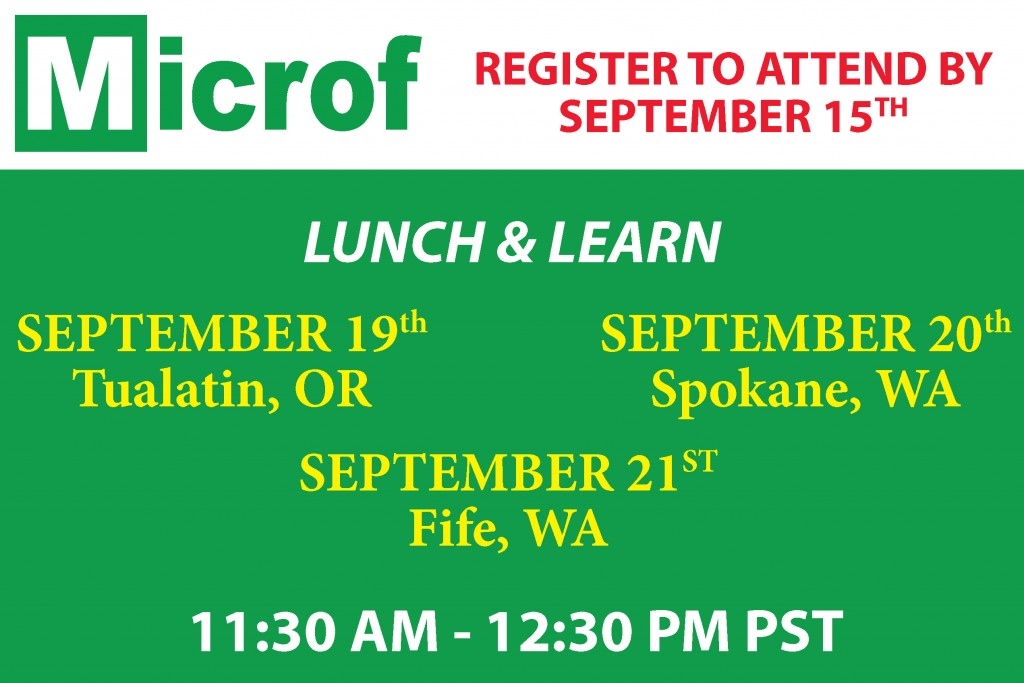 Microf Lunch & Learn - September 2017